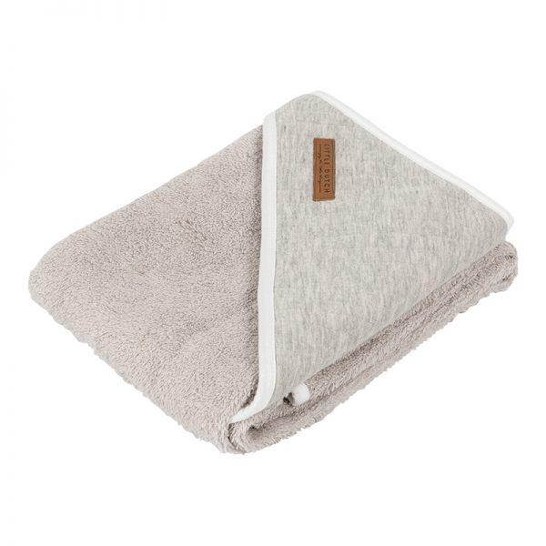 Toalha de Banho com Capuz Pure Grey