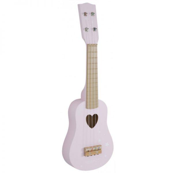 guitarra de criança rosa