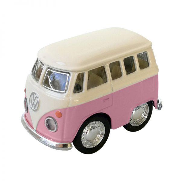 Mini Volkswagen Combi Rosa