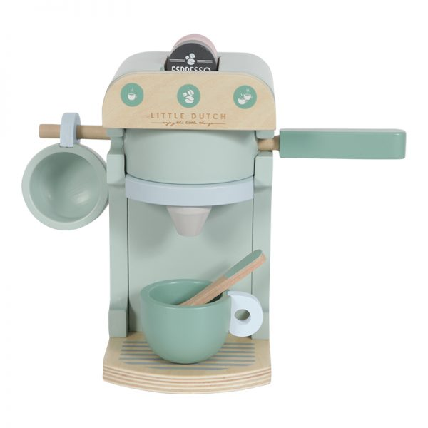 Maquina de Café de Madeira