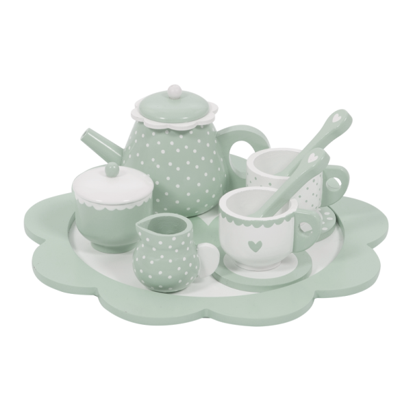Serviço de Chá em Madeira