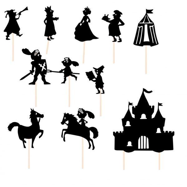 sombras de cavaleiros - marionetas
