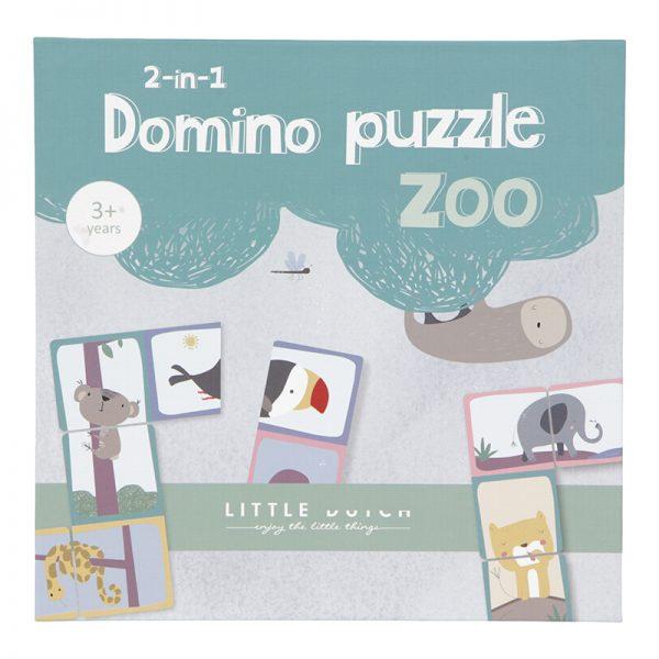 Puzzle Domino da Little Dutch - Um jogo 2 em 1
