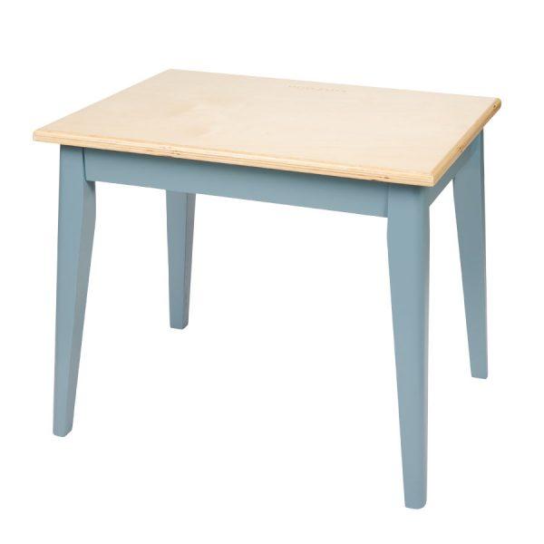 mesa vintage para criança em azul, da Little Dutch