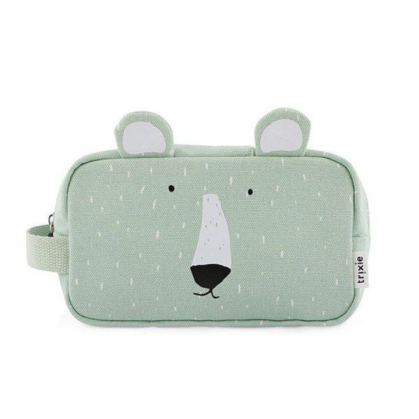 necessaire urso polar trixie bolsa de higiene